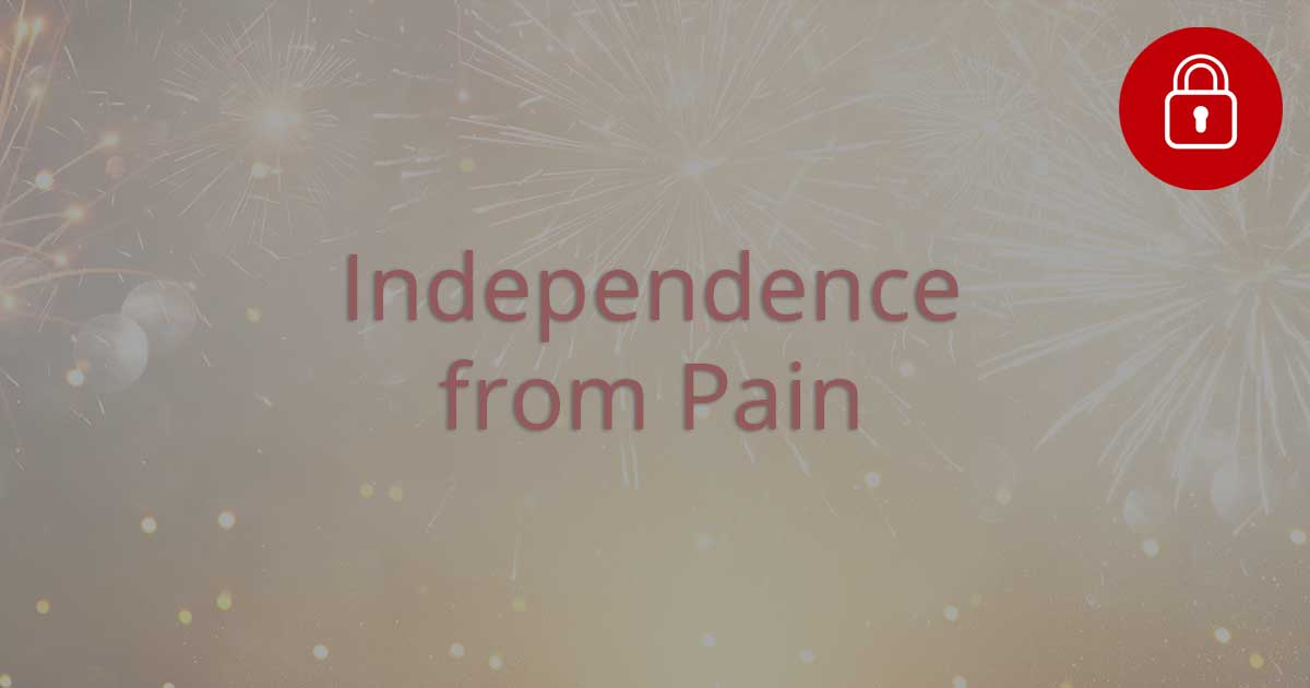 Independence from Pain - locked
